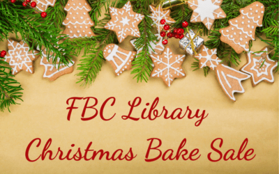 FBC Library Committee Bake Sale 2019