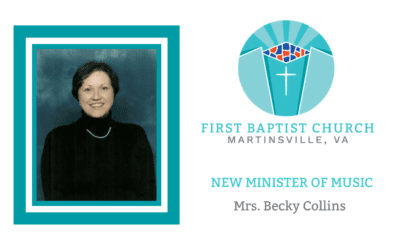 Our New Minister of Music – Becky Collins