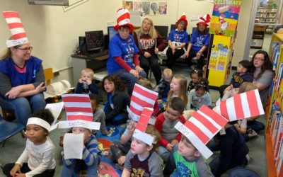 FBC's Library Committee Celebrates Read Across America Week and Dr. Suess' Birthday
