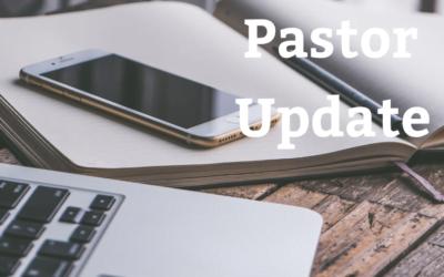 Pastor Update 3-24-2020