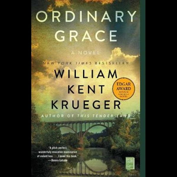 Got a little time on your hands?  Read Ordinary Grace from McCabe Library
