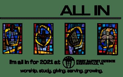Commitment Sunday, November 15, 2020