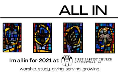 2021 Ministry Plan at First Baptist